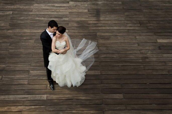 Irma y Javi en su sesión de fotos de boda - Foto Pepe Orellana