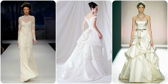 Abiti da sposa Prada. Foto via Prada Website