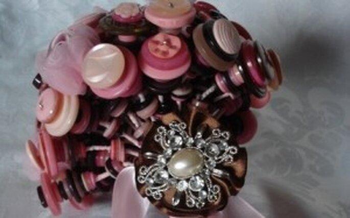 idea originale per un bouquet da sposa differente