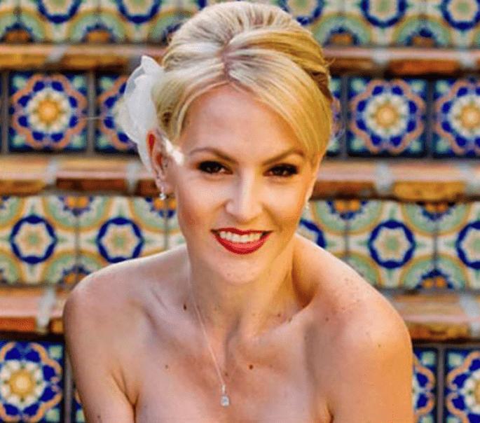 Sigue nuestros 15 tips de maquillaje para boda - Foto Hair Comes the Bride