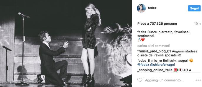 Foto via Instagram @fedez