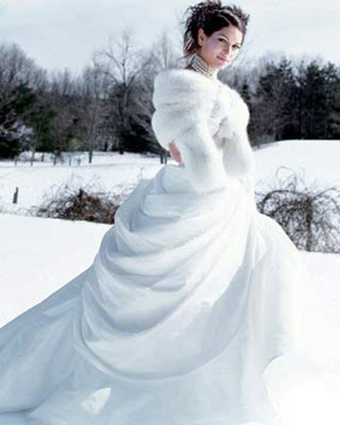Ambiance féerique du mariage hivernal - Crédits photo: D.R.