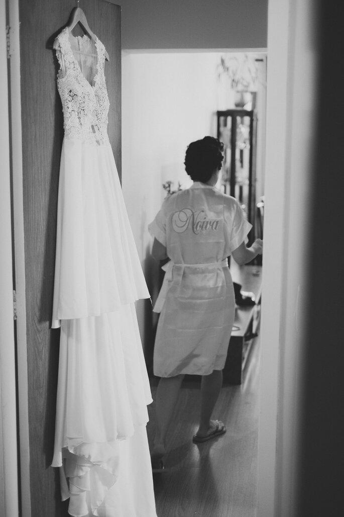 Roupão noiva