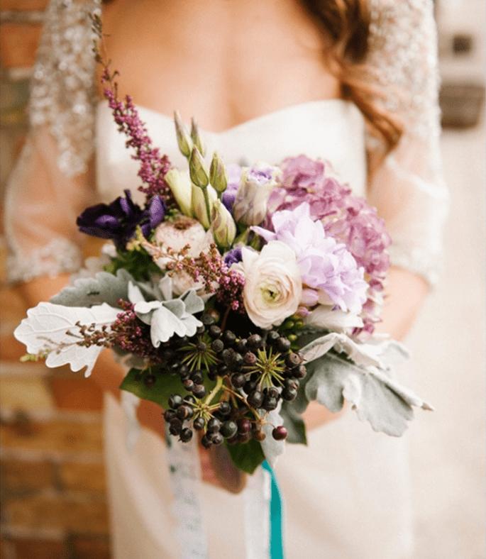 Ramos de novia con tendencias vintage - Foto Brooke Schultz