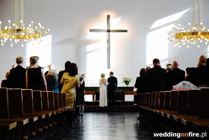 Wedding on fire