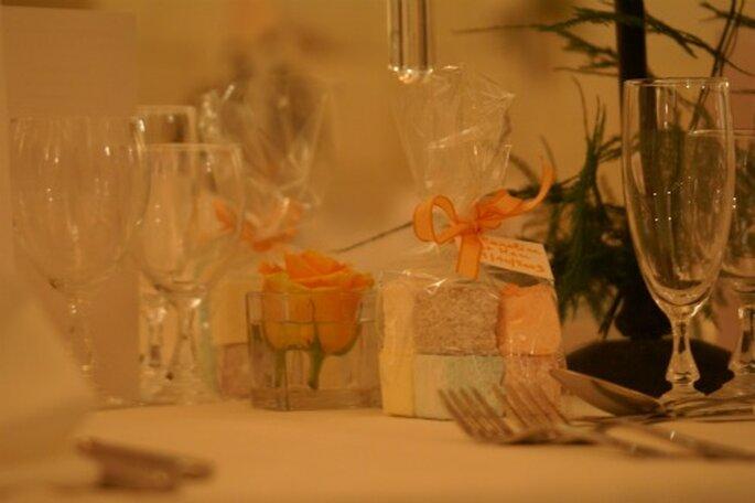 Avec des petites confiseries, on régale ses invités ! - Crédit photo : 1 Amour, 2 perles