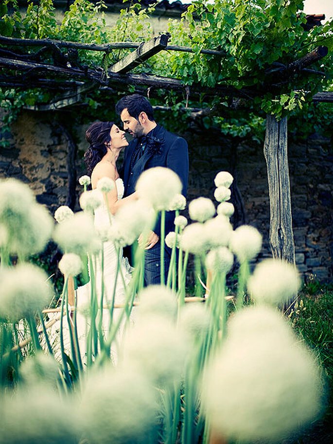 El fotoperiodismo no está reñido con las imágenes más emocionantes de la boda. Foto: Pepe Faraldo