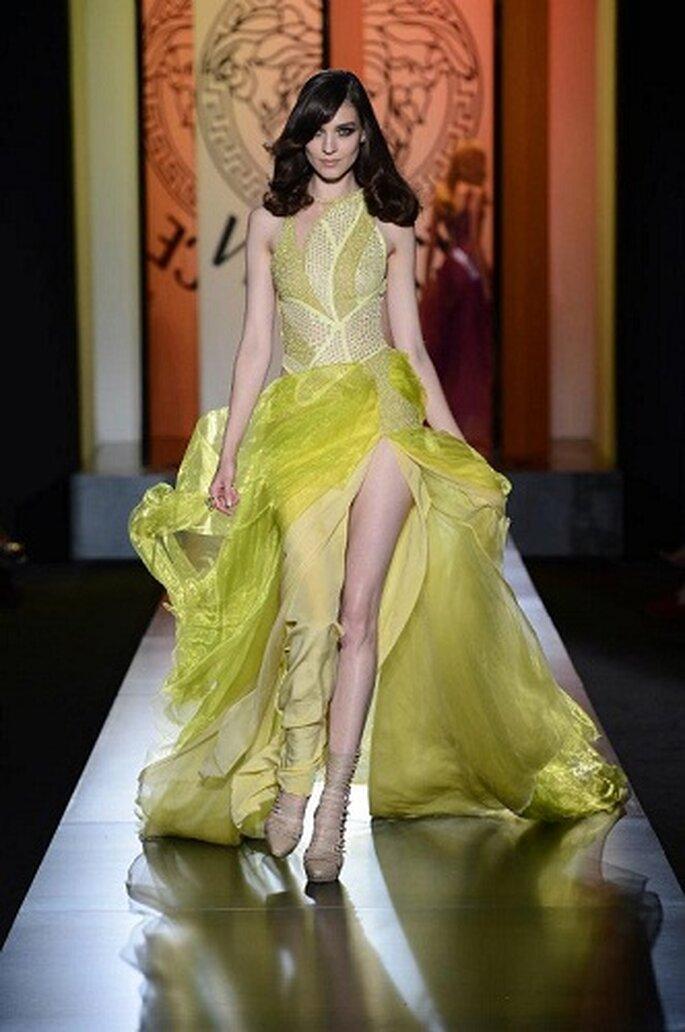 Propuesta de Versace en Paris. Foto:Versace
