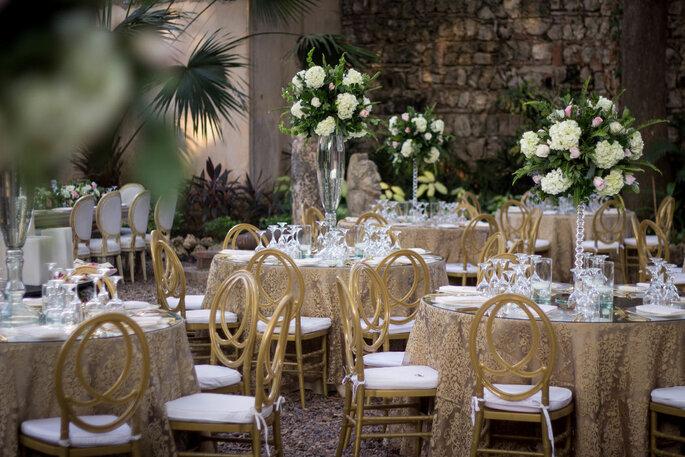 Rosa Fina Decoración de boda en Cartagena