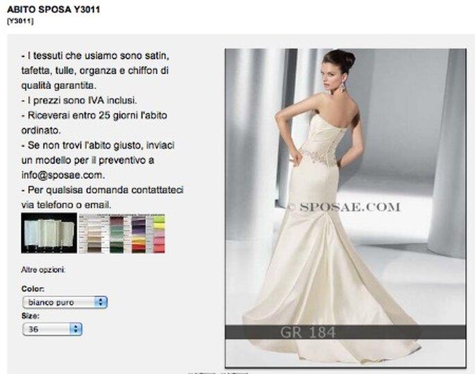 Un abito da sposa di alta qualità acquistato comodamente da casa: con Sposae si può!