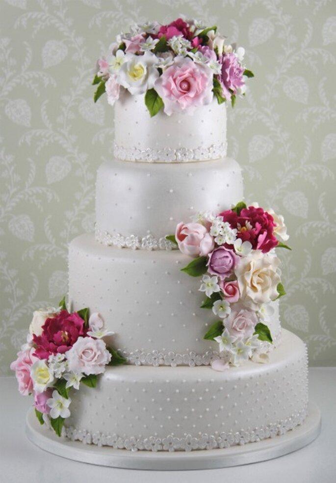 Rosas Peonias y Tulipanes - Cakes Haute Couture
