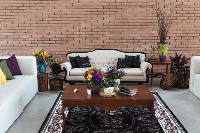 Decoração do lounge