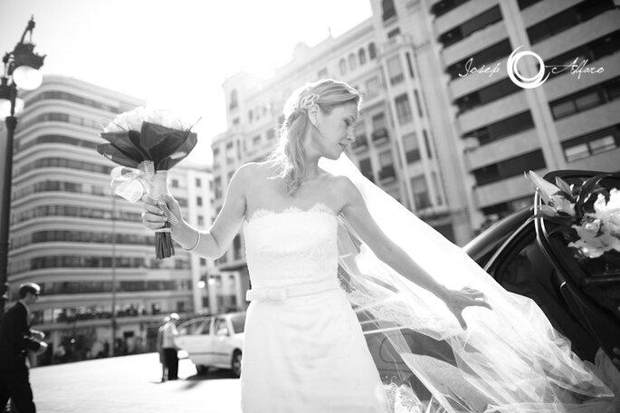 Die Trends für Haarschmuck für helles Jahr für 2012 - Foto: Josep Álfaro