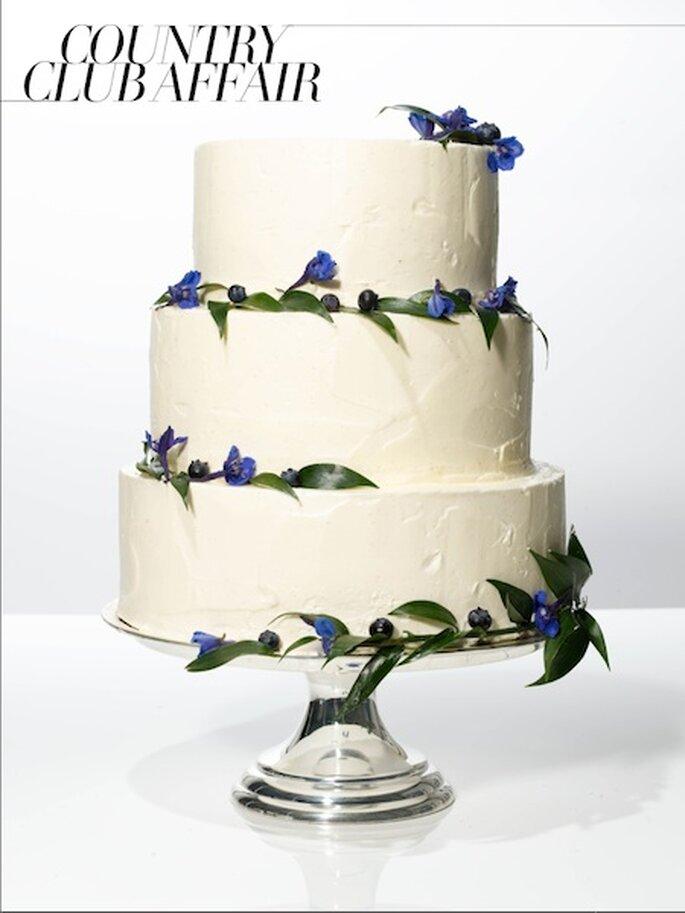 Vogue.com Bolo de casamento da Nine Cakes