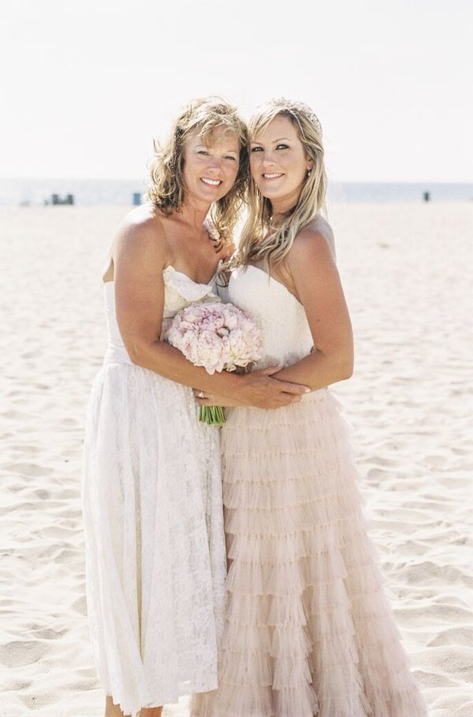 Las fotos obligadas de la novia con su mamá - Foto Braedon Photography