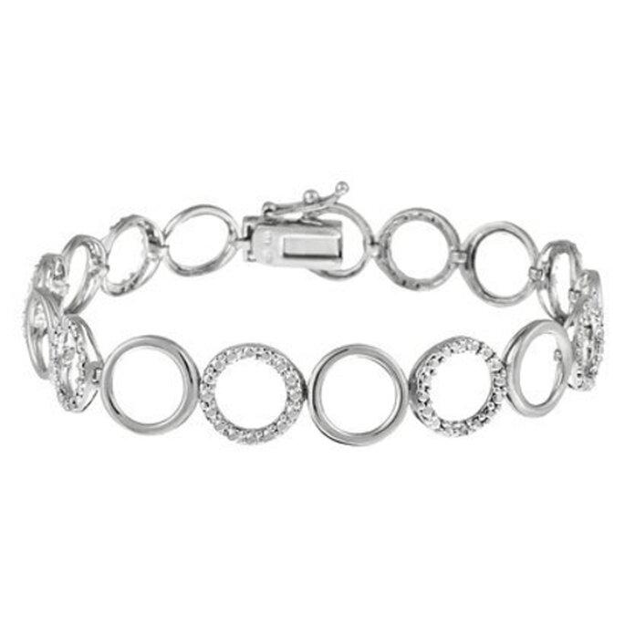 Elegante pulsera de plata como regalo del día de las madres - Foto Target
