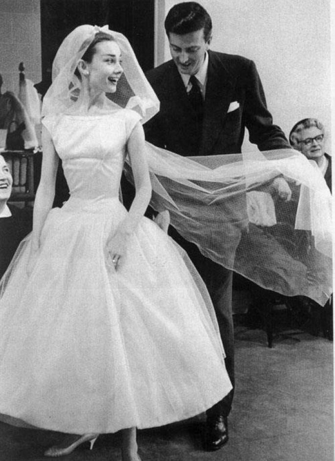 Audrey Hepburn noiva