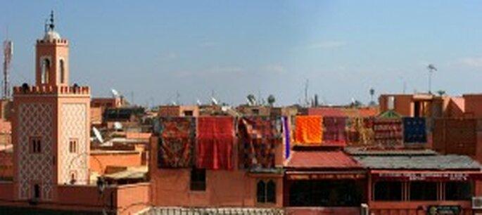 Voyage de noces à Marrakech