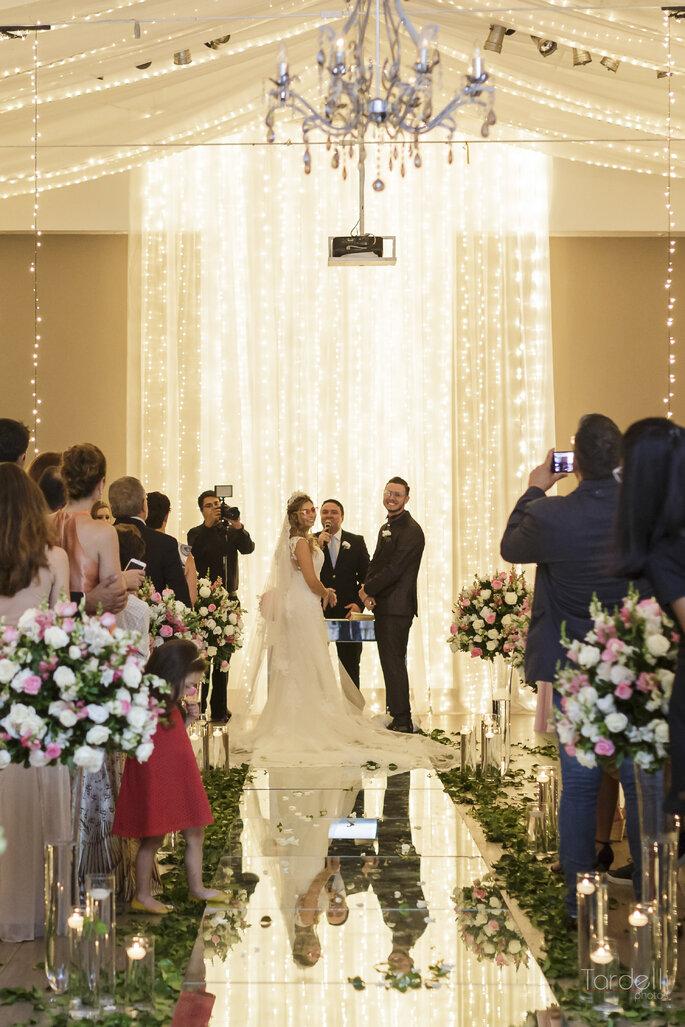Cerimônia de casamento divertida