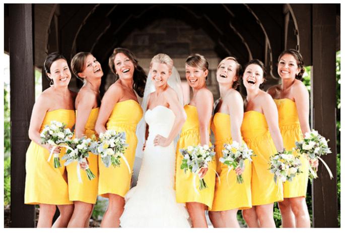 Vestidos en tendencia para damas de boda - Foto Melissa Tuck