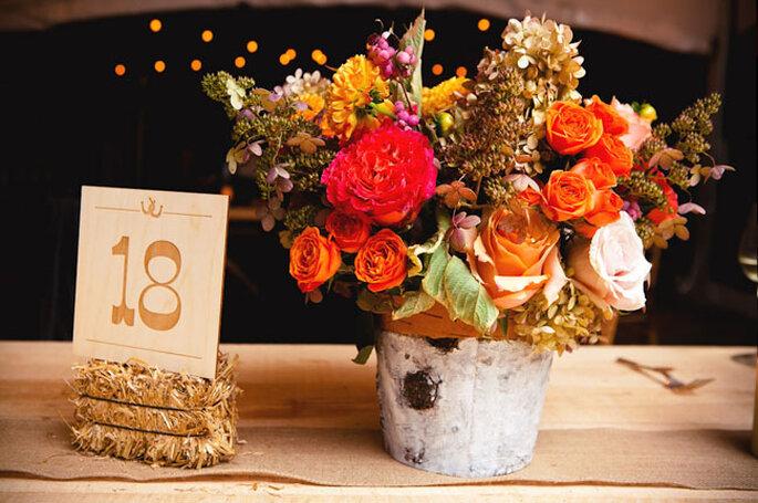 Blumenstrauss in Orange - Foto: Callaway Gable/Lauren Belknap