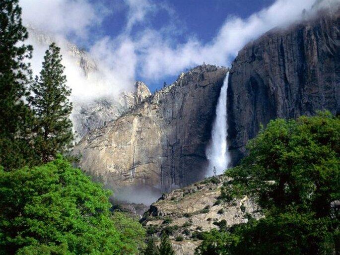 Cascate Yosemite, Sierra Nevada. Foto www.tecnoblog.girlpower.it
