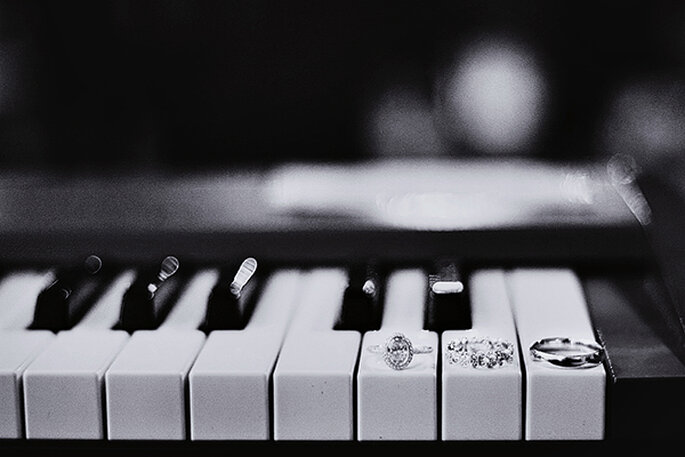 Boda con detalles musicales - Foto Phindy Studio