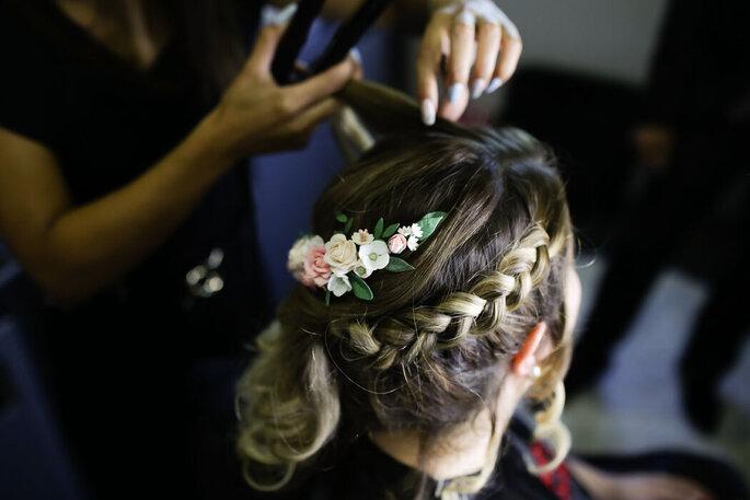 Acessório para cabelo Atelier Cristiana Cartucho