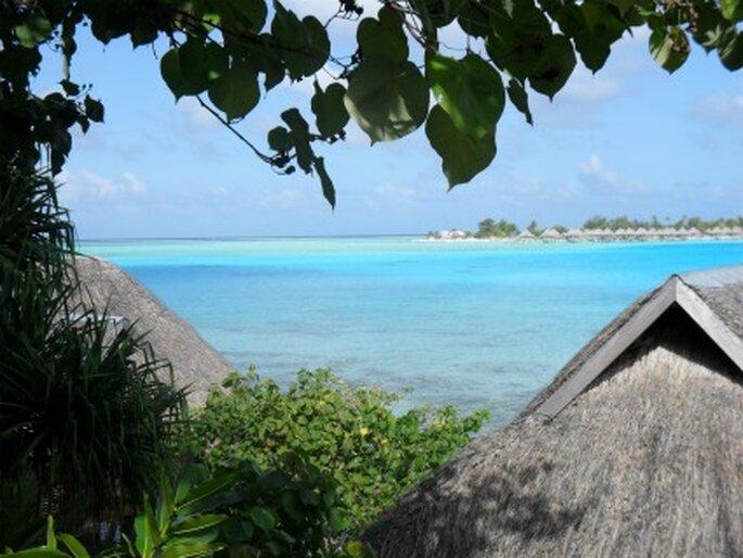 Bora Bora, le paradis des jeunes mariés