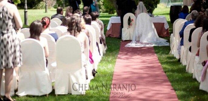 Grosses Hochzeitsfest im Garten - Foto: Chema Naranjo