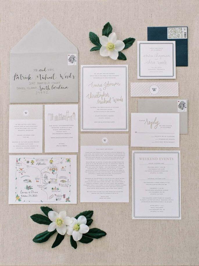 5 invitaciones para 5 estilos de boda distintos ideas de lo ms lindas altavistaventures Images
