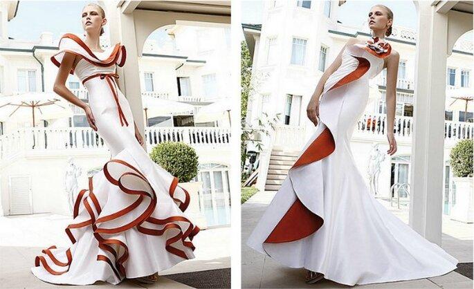 Elisabetta Polignano Collezione 2012...per una sposa che si farà certamente ricordare!