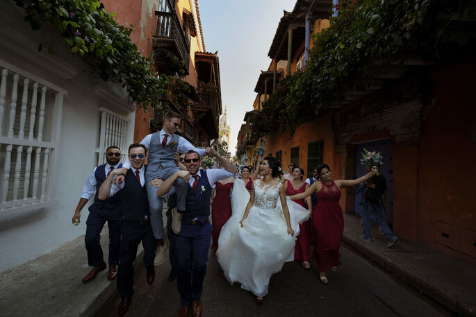 La Máquina del Tiempo Fotografía de boda Bucaramanga