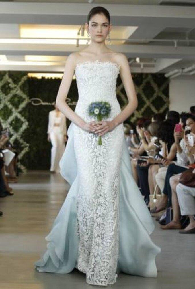 Robe de mariée Oscar de la Renta 2013
