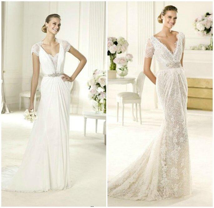 Le spalle tornano in primo piano con gli abiti da sposa - Mobili eleganti e raffinati ...