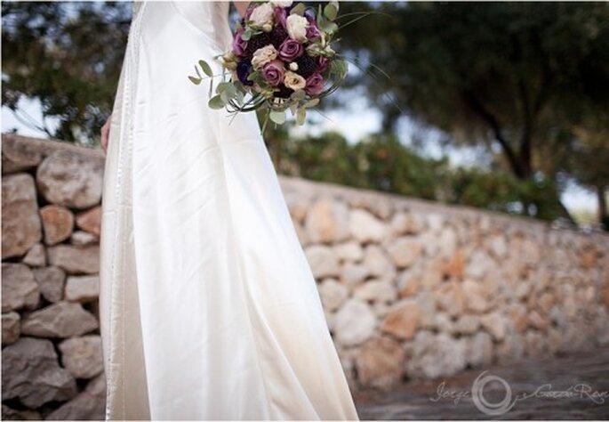 Tendencia en ramos de novia salvajes. Fotografía Joseph Alfaro