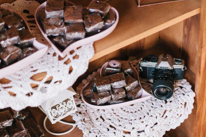 brownies casamento