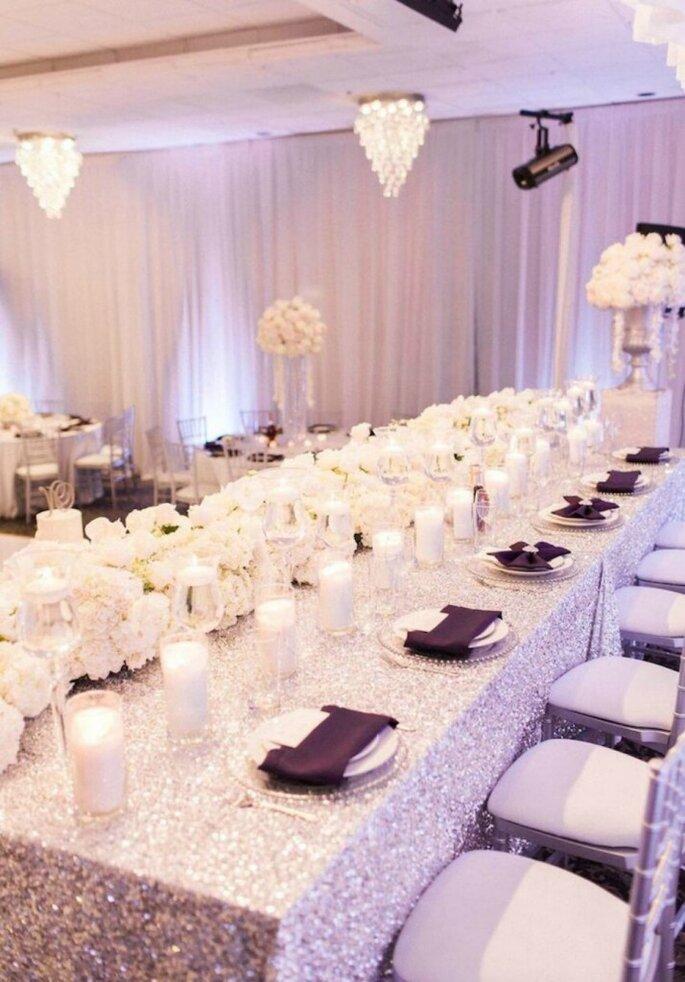 Decoración de banquete. Credits: Koman Photography