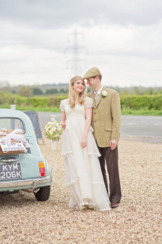 Toma en cuenta la formalidad de la ceremonia para elegir tu vestido de novia - Foto Cotton Candy Weddings