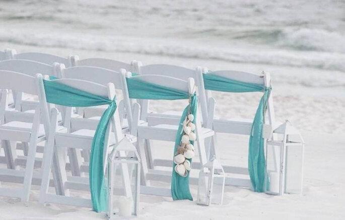 Casamentos na praia são tendência de verão