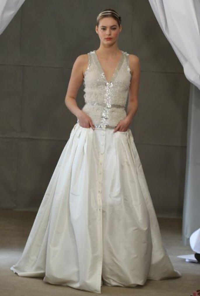 Vestido de novia Carolina Herrera 2013. Foto: Carolina Herrera
