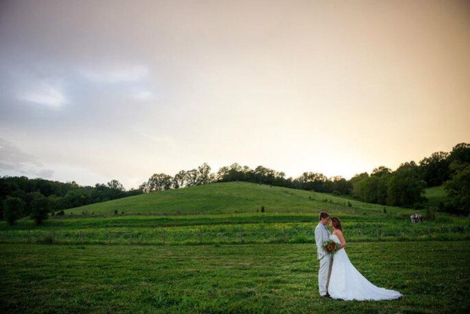 Boda clásica sureña en Kentucky. Foto: 1326 Studios