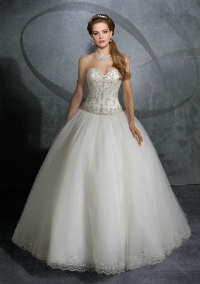 Come una principessa con questo abito Mori Lee Collezione 2012 Mod.2914 Foto www.morilee.com