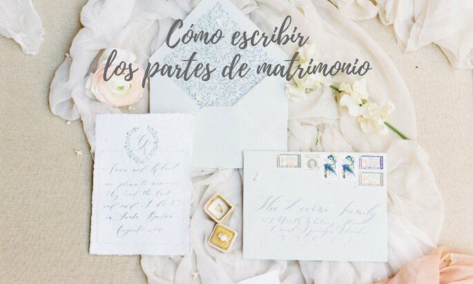 Cmo escribir los partes de matrimonio te contamos qu poner en tenth grace pe altavistaventures Images