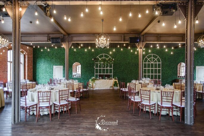 Свадебный ресторан Весенний. Лофт