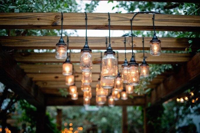 Las ideas más originales para usar los mason jars en tu boda - Nataschia Wielink Photo and Cinema