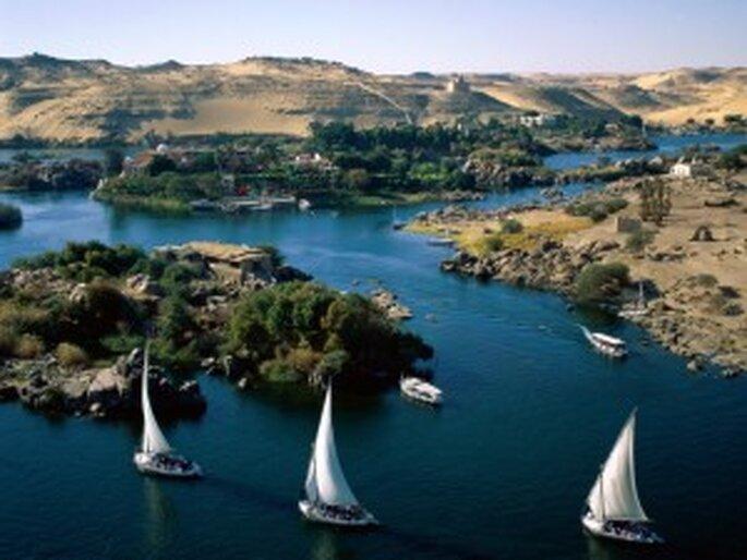 Vista del Rio Nilo