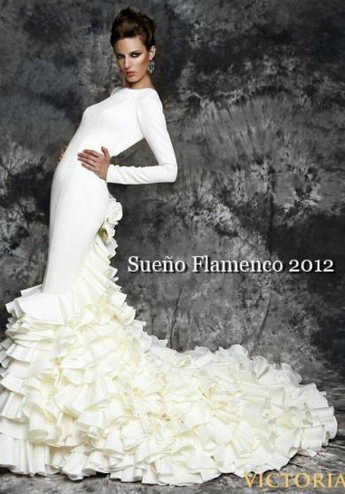 Vestido de novia de Vicky Martín Berrocal para 2012