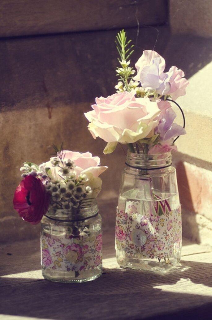 DIY-Blumen-Dekorationen liegen im Trend und sind viel günstiger – Foto:  ElizaClaire MarieSimon