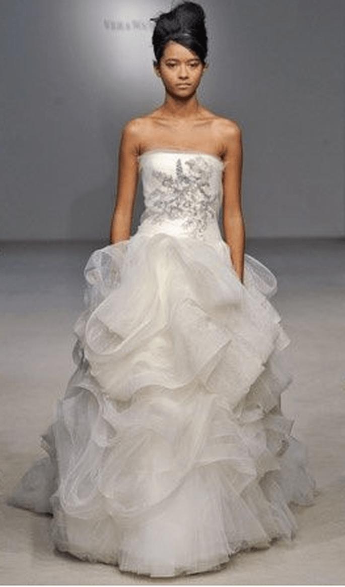Robe de mari e sir ne vera wang for Meilleures robes de mariage vera wang